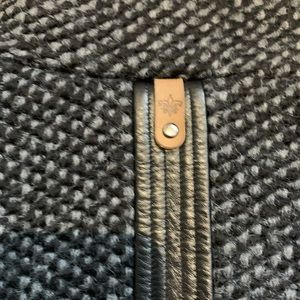 Mackage Jackets & Coats - MACKAGE Wool Winter Pea Coat Charcoal Leather Trim